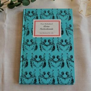 ヴィンテージ図鑑 インゼル文庫No.1082  Kleine Fleckenkunde 小さな絵具跡の講座