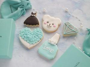 【ティファニーブルー】アイシングクッキー/ ギフトセット