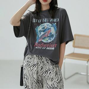 ヴィンテージ コスモ シャツ | Tシャツ ヴィンテージ風 レトロ 古着 韓国服
