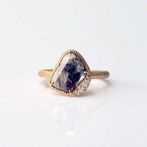 Sliced Diamond Ring(R381-YD)