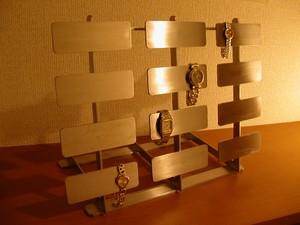 腕時計収納コレクションケース!24本掛け腕時計スタンド