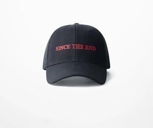 [シンプル]since the endデザインキャップ