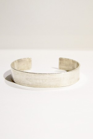 【grün⁺】THIN BANGLE 12mm SILVER