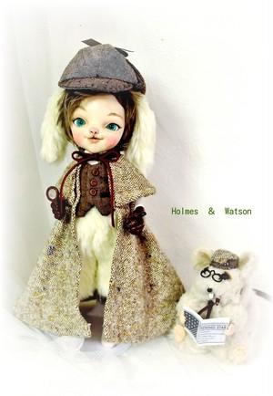 Holmes rabbit & Watson rat .