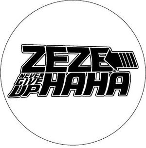 ゼーゼーハーハー缶バッチ