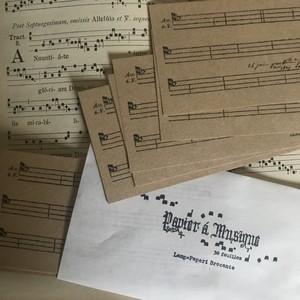 Papier à musique  (ミュージックペーパー)
