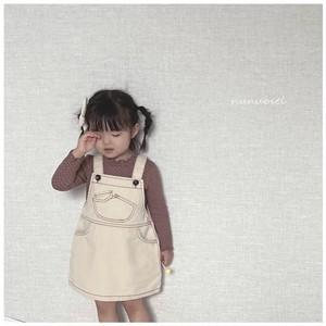 【予約販売】mini pocket denim dress〈nunubiel〉