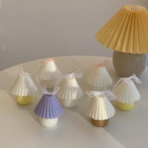 vintage lamp candle 6colors / ヴィンテージシェードランプキャンドル 韓国 北欧