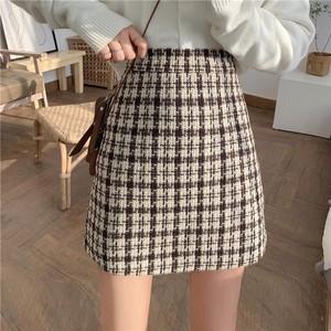 チェック柄オールマッチスカート S2960