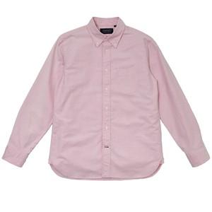 オックスフォード ボタンダウンシャツ ピンク
