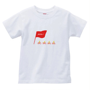 bicycle T (WHT×RED)