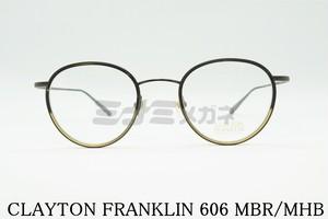 安田章大さん着用モデル CLAYTON FRANKLIN(クレイトンフランクリン) 606 MBR/MHB