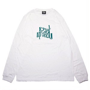 twistverdant LS Tee / White