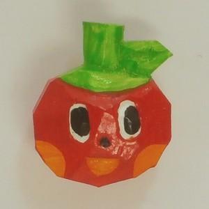 ピンバッチ リンゴ pbs-009