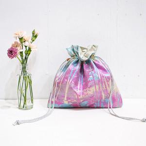 Fleur mini巾着&ショルダーバッグ 2way