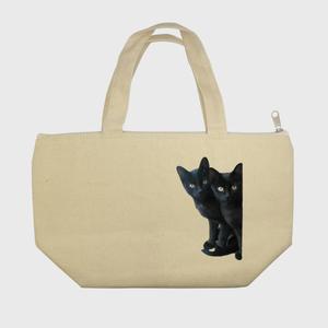 黒猫は見た・保冷ランチトートバッグ