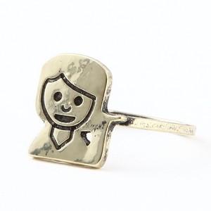 Hi Girl Emoji Ring
