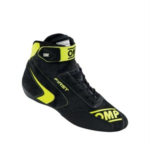 IC/802E182 FIRST SHOES MY2020 Anthracite / Fluo yellow