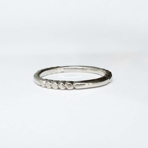 Layered Ring / Rock Gold (WG)