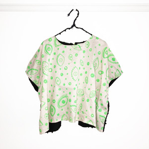 E/G SQUARE TP -BONBON CUT JQ / WOMEN