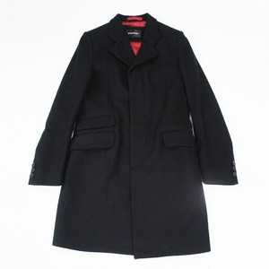Crombie Coat(Chesterfield Coat) BLACK