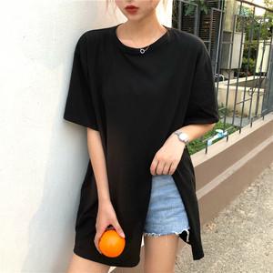 サイドスリットTシャツ 【A157】