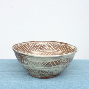 三島鉢:使い勝手の良いちょっと大ぶりの三島鉢