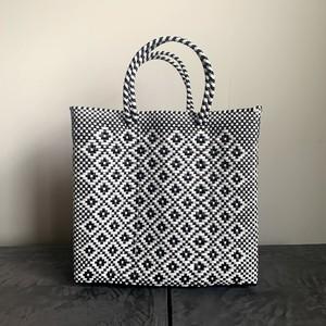MERCADO BAG|ROMBO(White×Black) M