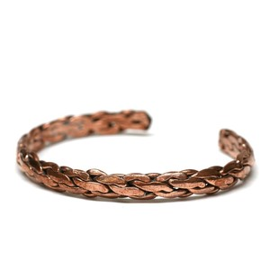 Vintage Bronze Woven Bangle