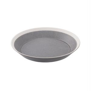 yumiko iihoshi porcelain(ユミコイイホシポーセリン)×木村硝子店 dishes 200 plate (moss gray) /matte プレート 皿 20cm 日本製 255640