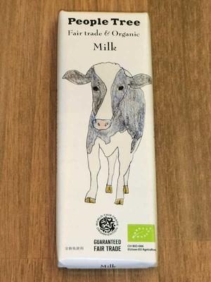 【チョコレート】ミルク(フェアトレード/ピープルツリー)