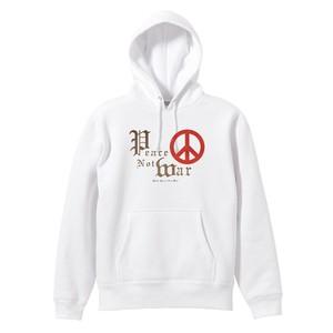 PEACE NOT WAR【FULL COLOR / PARKA】白ボディー