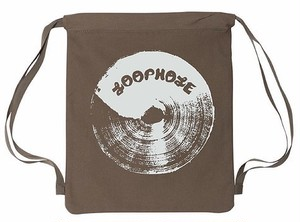 Loophole Wheels / CANVAS BACKPACK  / with zip / Khaki