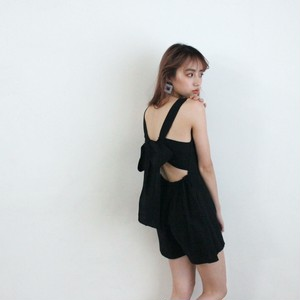 back ribbon rompers (S19-04047K)