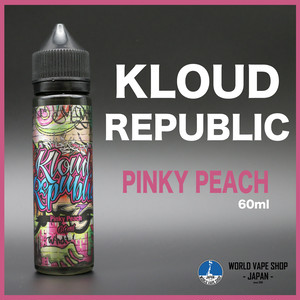 Kloud Republic PINKY PEACH 60ml