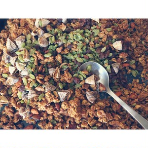 Fig & Honey GRANOLA 400g [Grass Bottle]
