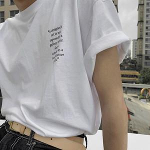 《即納》バックロゴホワイトTシャツ