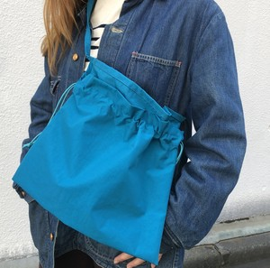 3-Way Red Cross Nylon Bag, Turquoise
