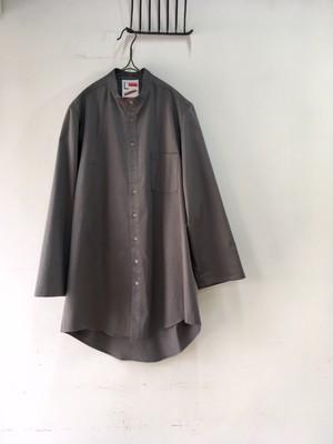 "sale! 50% off!/REVERBERATE/Cover Shirt ""gray satin""(リバーバレイトのグレイのカバーシャツ)"