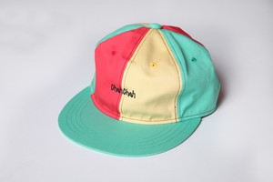 CC PANEL BASEBALL CAP-RASTA