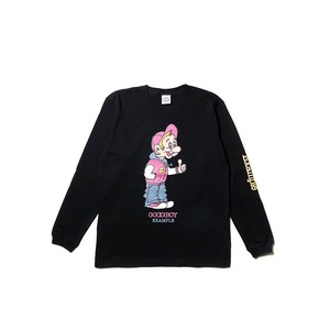 GOOD BOY L/S TEE / BLACK