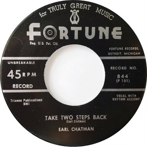 Earl Chatman ‎– Take Two Steps Back / Loving You Baby