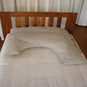 ビッグサイズ枕カバー/リネン