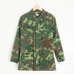 古着 米軍 実物 ジャングルファティーグ ジャケット カモフラージュ S-R
