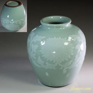 平安洛堂青磁花瓶W6103