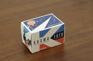 【35mm モノクロネガ】 KOSMO FOTO(コスモフォト)MONO100 36枚撮り