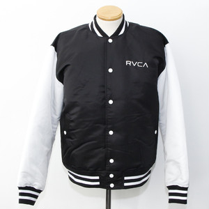 RVCA STUDIUM JUMPER (Black/White) [AJ042-758]