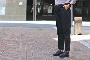 【ORDINARY FITS】TACK TROUSERS