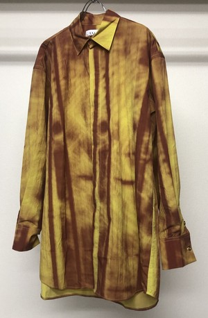 CAMILLA DAMKJAER YELLOW PRINTED SHIRT