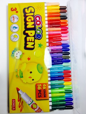 Dong-a COLOR SIGN PEN 56PCS